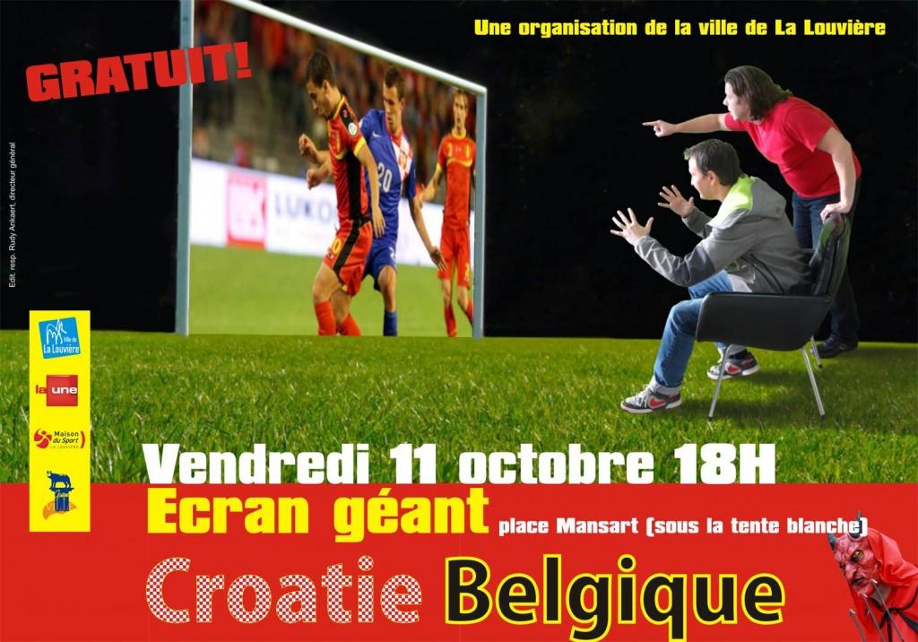 Croatie-Belgique