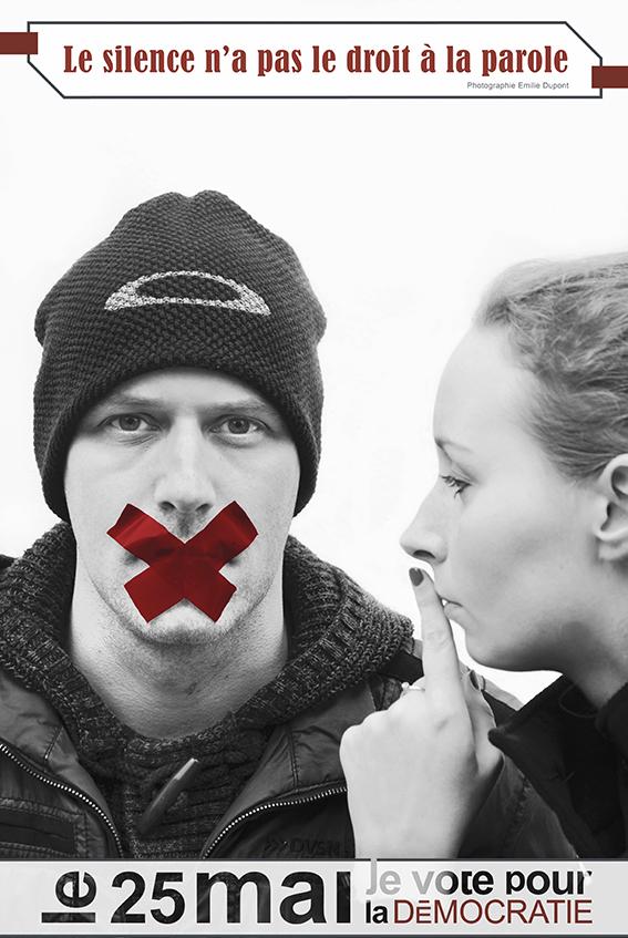 Le silence n'a pas le droit à la parole